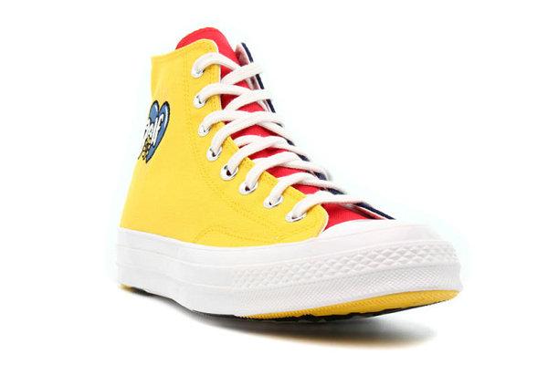 匡威 x Golf Wang 全新联名 Chuck 70 红黄蓝撞色鞋款亮相