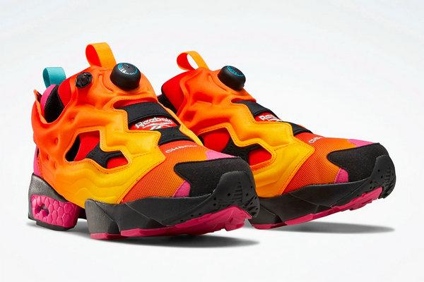 锐步 x Chromat 全新联名 Pump Fury 鞋款本月登陆