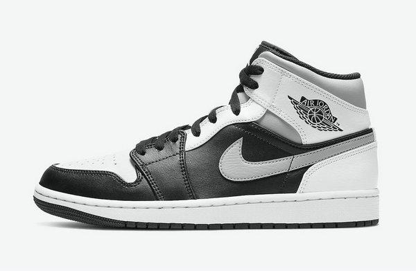 "AJ1 MID 鞋款全新""White Shadow""配色曝光,高冷范儿"