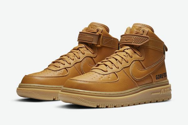 小麦色 Air Force 1 鞋款全新 Gore-Tex 版本曝光,秋冬最佳选择