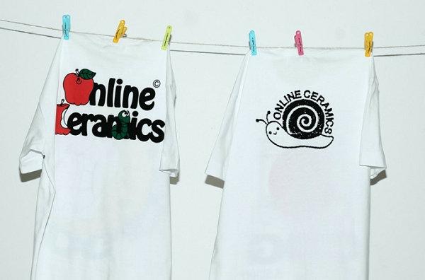 CDG x Online Ceramics 全新联名 T-Shirt 胶囊系列上架