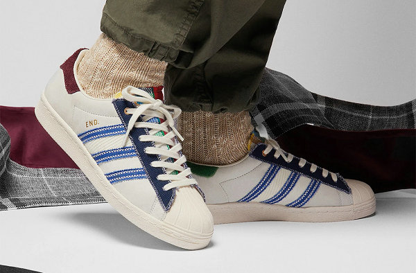 "END. 全新联名贝壳头""Alternative Luxury""鞋款明日上架"
