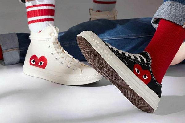 CDG Play x 匡威联名全新 Chuck 70 鞋款系列开启贩售