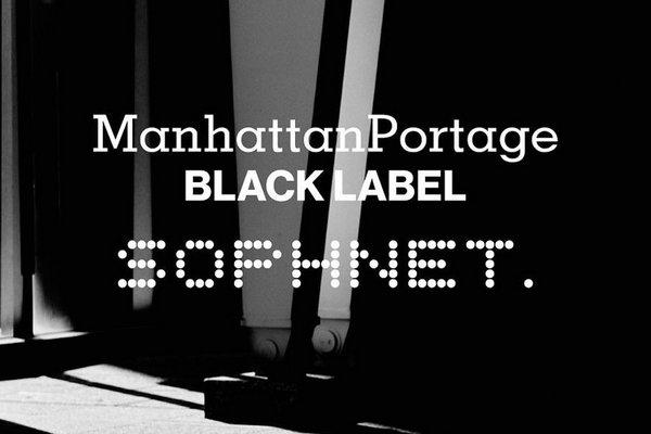 SOPHNET. x Manhattan 全新联名随行单肩背包即将上架