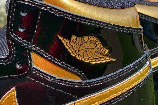 黑金漆皮 Air Jordan 1 鞋款0.jpg