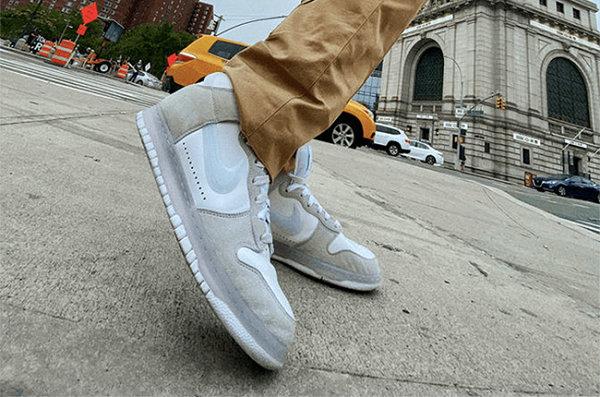 Slam Jam x 耐克联名 Dunk Hi 鞋款系列曝光,质感独特怪异