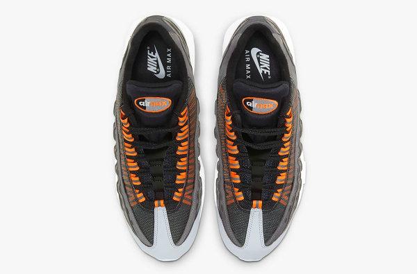 Kim Jones 联名 Air Max 95 灰白橙配色鞋款官图发布