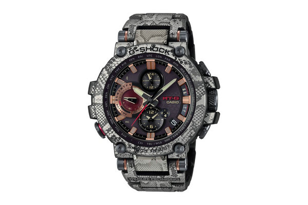 G-Shock x Wildlife 全新联名「蛇鳞」样式 MTGB1000 表款上架