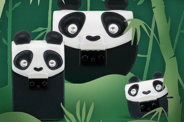 FURLA(芙拉)全新中国限量款熊猫胶囊系列包袋来袭