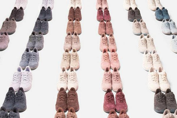 亚瑟士 x Ronnie Fieg 全新联名 Gel Lyte III 鞋款系列释出