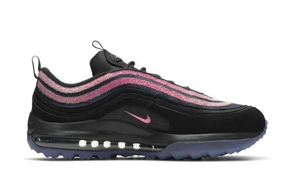 黑粉 Air Max 97 Golf 鞋款来袭,颜值、性能都在线!