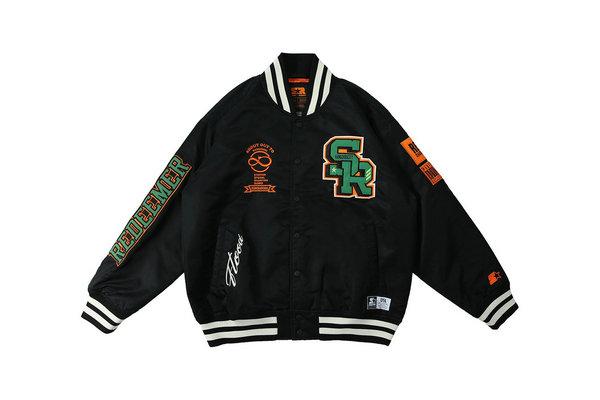 STARTER黑标 x REDCHARCOAL 全新联名夹克上架发售