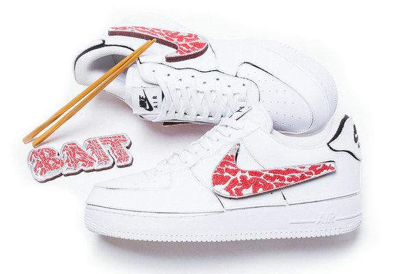 """BAIT x Nike 全新联名 AF1""""A5 Wagyu""""配色鞋款释出"""
