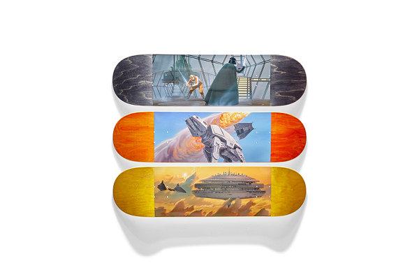 Element x《星球大战》全新联名滑板系列亮相,纪念上映 40 周年