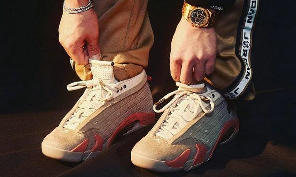 CLOT x Air Jordan 14 Low 联名鞋款1.jpg