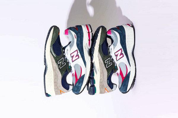 atmos x 新百伦全新联名 2002R 鞋款系列即将登场
