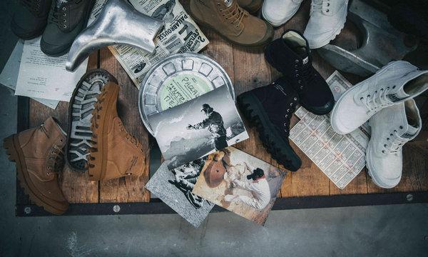 Palladium 帕拉丁经典复刻版 PALLABROUSSE 系列鞋款来袭