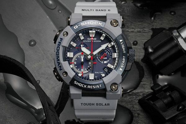 G-Shock x 英国皇家海军全新联名 Frogman 别注腕表释出