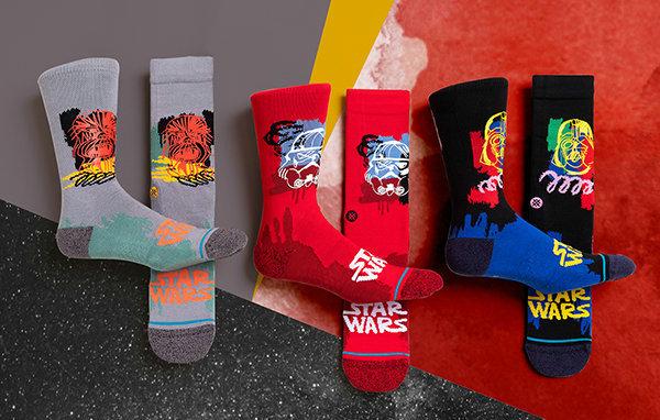 Stance x 星球大战全新联名潮袜系列发布,原力满满