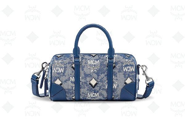 "MCM 2021 父亲节限定""VINTAGE JACQUARD""包袋系列上架"