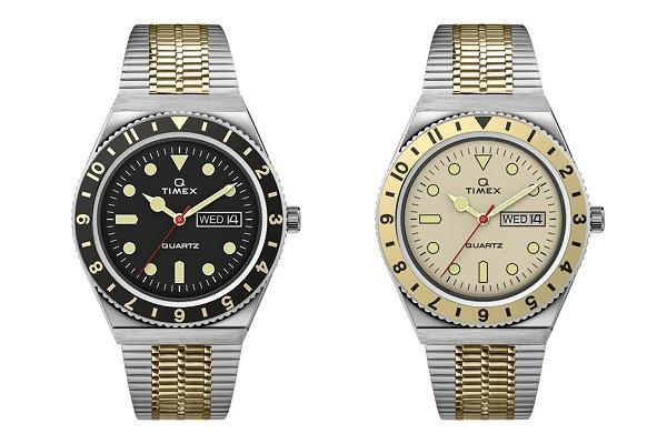 天美时全新 Q Timex 复古双色调表款系列即将登场