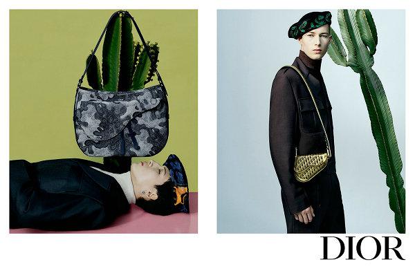 Dior 迪奥 2021 冬季男装形象照亮相,艺术家画作魅力