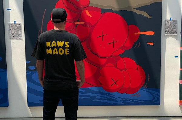 KAWS x Human Made 全新联名 T-Shirt 抢先预览