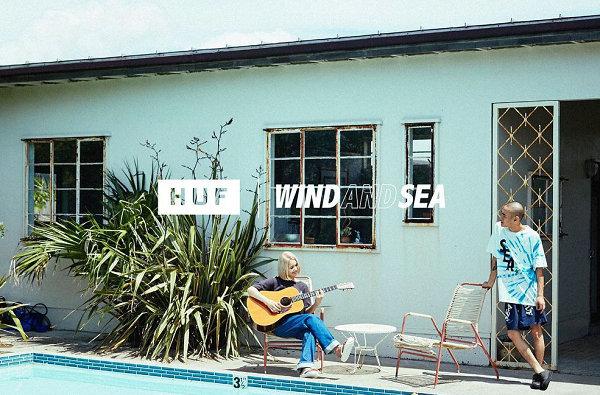 日潮 Wind And Sea x HUF 全新联名系列预告来袭