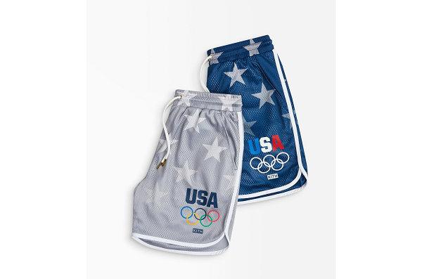 KITH x Team USA 全新联名短裤系列曝光,奥运主题