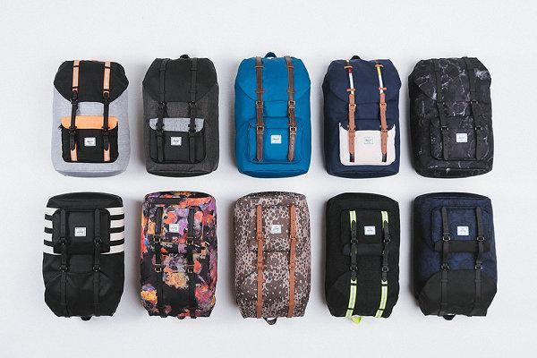 Herschel 2021 秋季包袋系列抢先预览,色彩浓郁