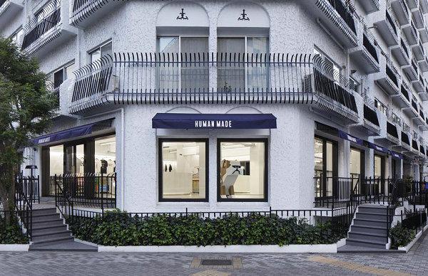 Human Made 东京 Tokyo 旗舰店重新开张,颇具特色