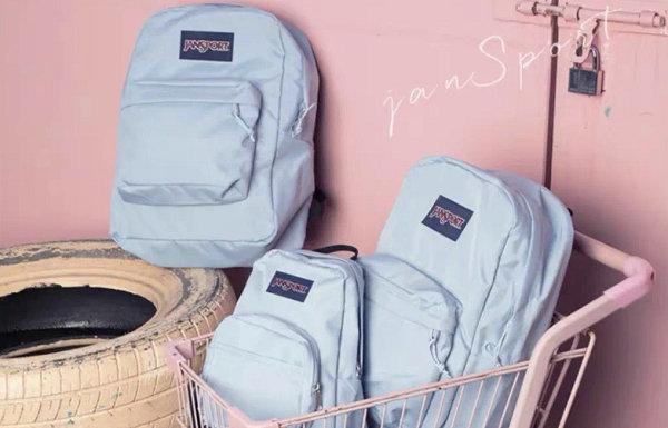 "JanSport 杰斯伯全新""雾霾蓝""包袋系列释出"
