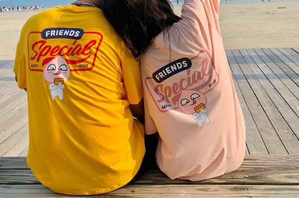 361° x KaKao Friends 全新联乘情侣装系列来袭