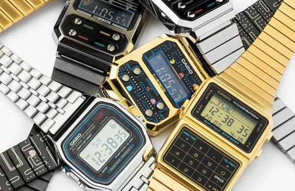 卡西欧 x PAC-MAN 吃豆人联名 A100 腕表系列即将上架