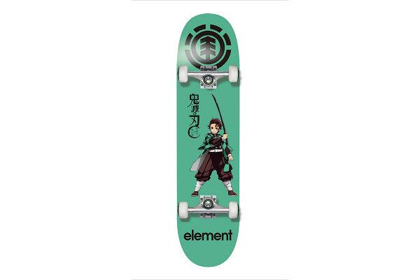 Element x 《鬼灭之刃》全新联名滑板系列上架