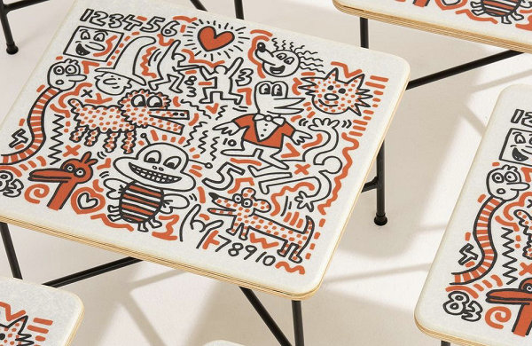 Keith Haring x Modernica 全新联名家具系列开售~