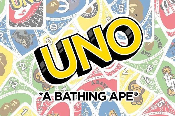 BAPE x UNO 50 周年纪念联名系列明日发售