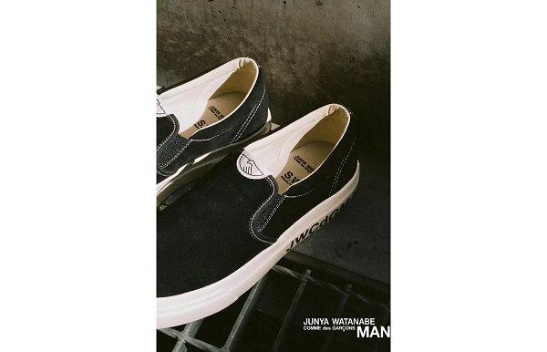 CDG x STEPNEY WORKERS CLUB x 渡边淳弥全新联名鞋款发售