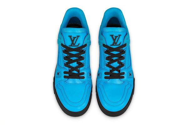 路易威登 LV Trainer 鞋款全新纯色系列公布