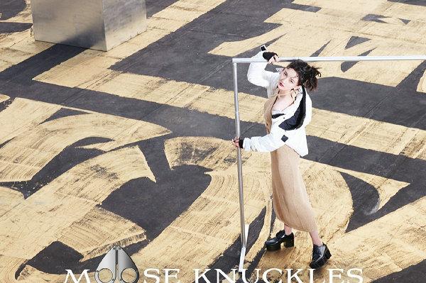 Moose Knuckles 2021 秋冬女装系列广告大片公布