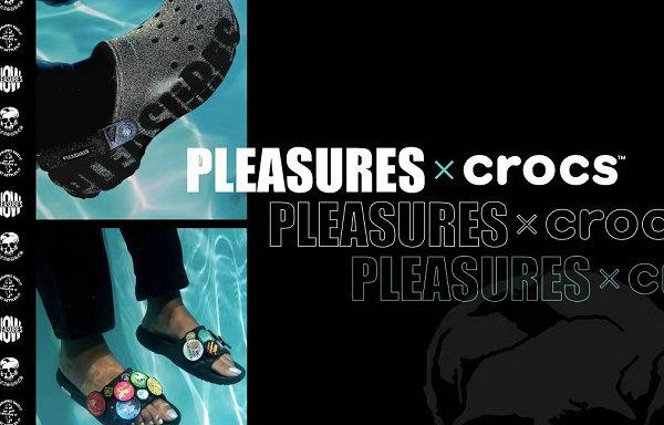 PLEASURES x Crocs 全新联名鞋款系列抢先预览